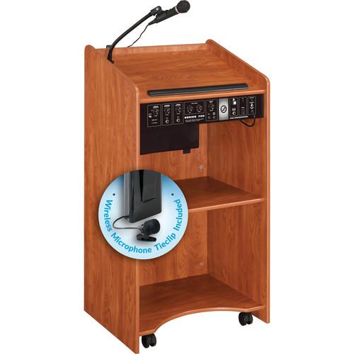 Oklahoma Sound Sound Lectern #6010 (Wild Cherry)