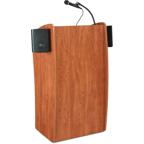 Oklahoma Sound Vision Lectern with Sound (Cherry)