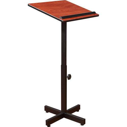 Oklahoma Sound Portable Presentation Lectern (Wild Cherry Laminate)