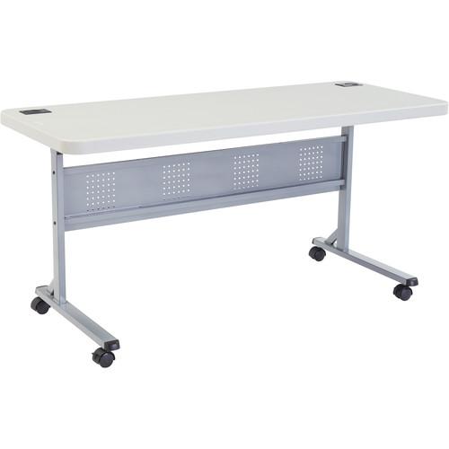 "Oklahoma Sound Plastic Flipnstore Table 60"""