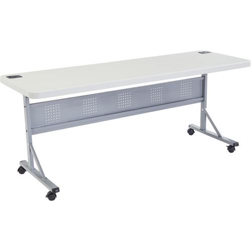 "Oklahoma Sound Plastic Flipnstore Table 72"""