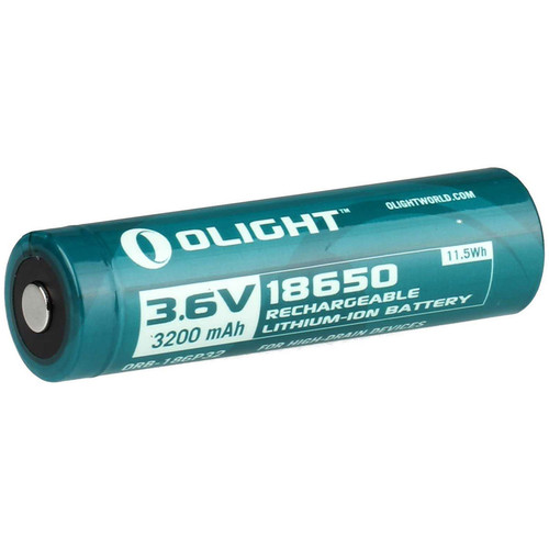 Olight Olight 18650 Li-ion Rechargeable Battery (3.7V, 2600mAh, Clamshell Packaging)