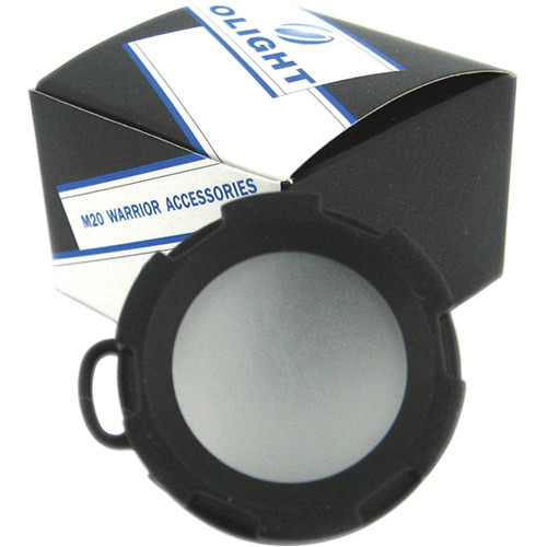 Olight DM20 White Diffuser Filter for Select Flashlights