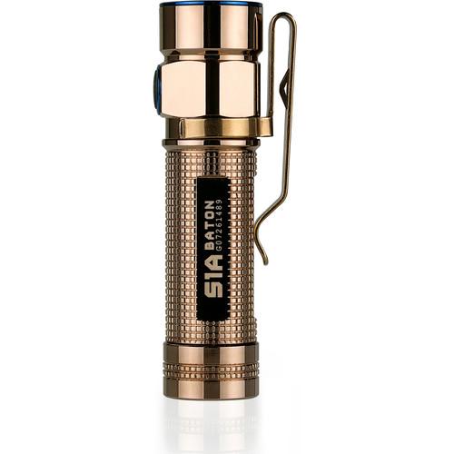 Olight S1A Limited Edition Flashlight (Rose Gold)