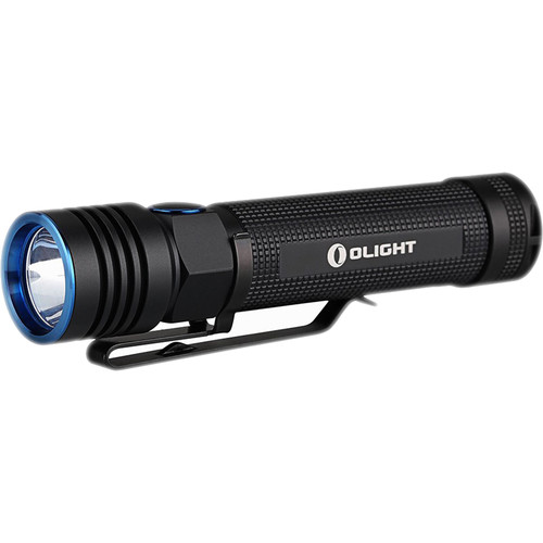 Olight S30R III Baton Rechargeable LED Flashlight (Black, 3500mAh Battery)