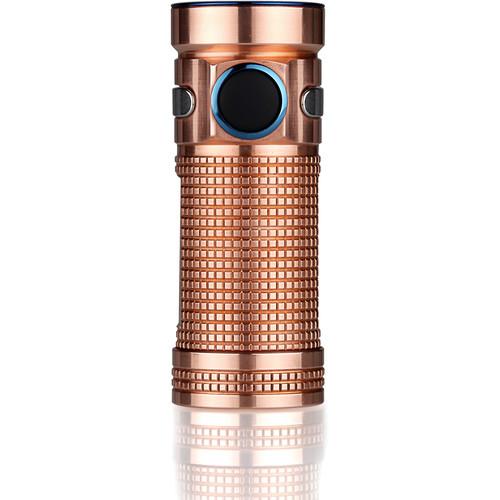 Olight S Mini CU Flashlight (Raw Copper)