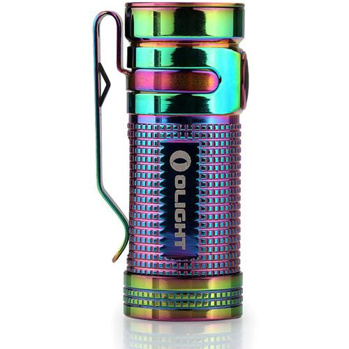 Olight S Mini TI Flashlight (Rainbow)