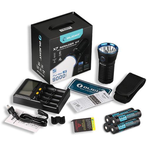 Olight X7 Marauder LED Flashlight Kit
