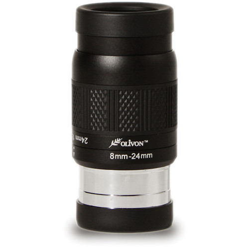 "Olivon 8-24mm 3x Deluxe Zoom Eyepiece (1.25"" / 2"")"