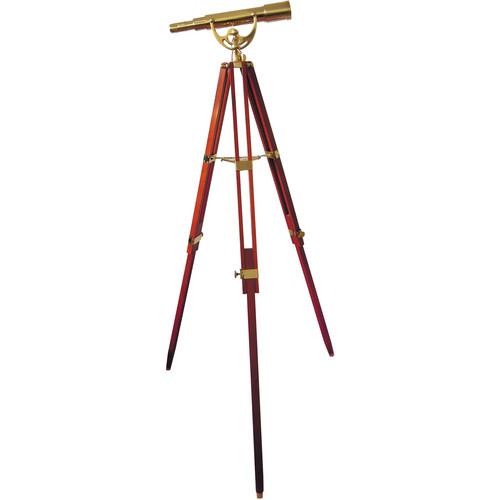 Olivon 50mm Brass Zoom Telescope with Tripod