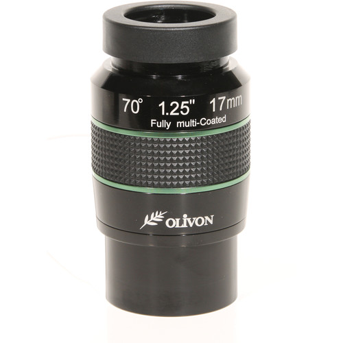 "Olivon 17mm 70° Wide-Angle Eyepiece (2"" / 1.25"")"
