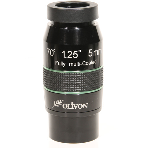 "Olivon 5mm 70° Wide-Angle Eyepiece (2"" / 1.25"")"