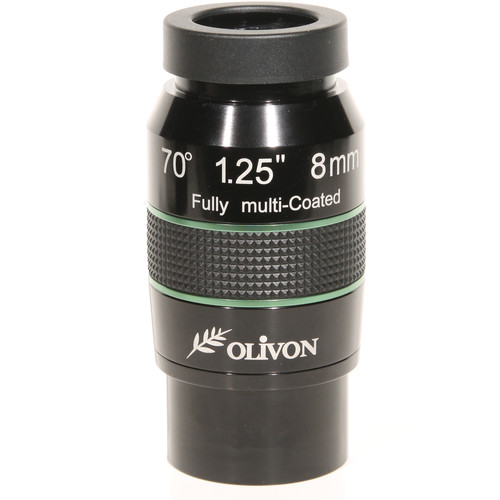 "Olivon 8mm 70° Wide-Angle Eyepiece (2"" / 1.25"")"