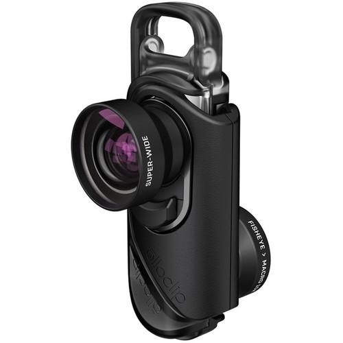 olloclip Core Lens Set for iPhone 7/7 Plus (Black)