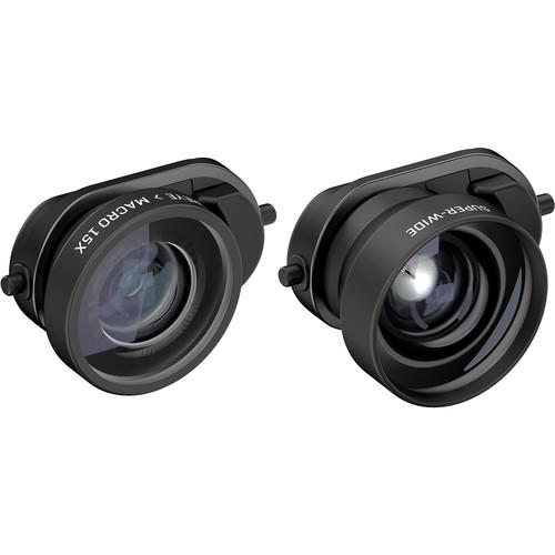 olloclip Fisheye + Super-Wide + Macro Essential Lenses for the iPhone 8 Plus, 7 Plus, 8, and 7
