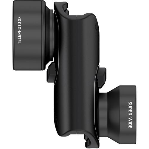 olloclip iPhone  X Vista Lens Set (Black)