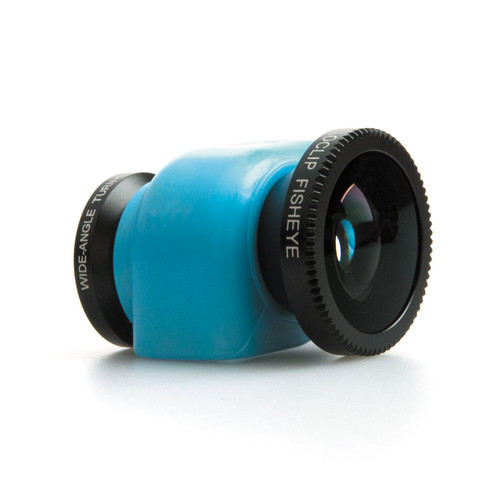 olloclip 3-in-1 Lens System for iPhone 5c (Blue Clip)