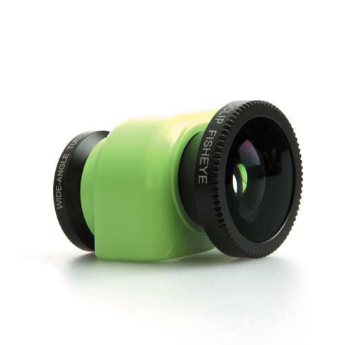 olloclip 3-in-1 Lens System for iPhone 5c (Green Clip)