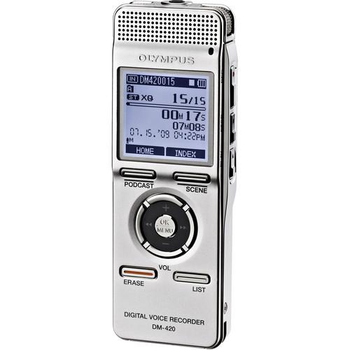 Olympus DM-420 Digital Voice Recorder (2GB)
