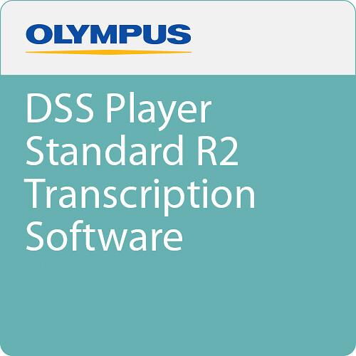 Olympus DSS Player Standard Transcription Software