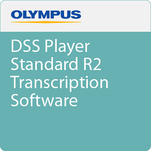 Olympus DSS Player Standard R2 Transcription Software (Download)