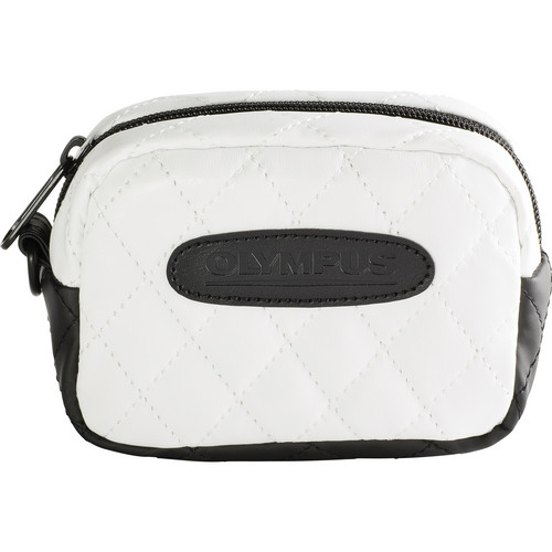 Olympus Quilted SZ Camera Case (White)
