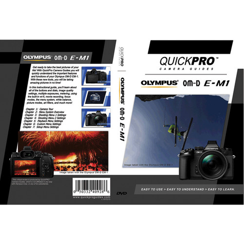 Olympus DVD: QuickPro Camera Guide to the Olympus OM-D E-M1