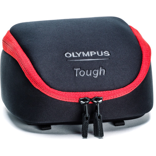 Olympus Tough Camera System Bag (Black with Red Trim)