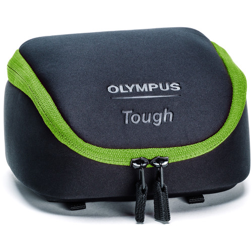 Olympus Tough Camera System Bag (Black with Green Trim)