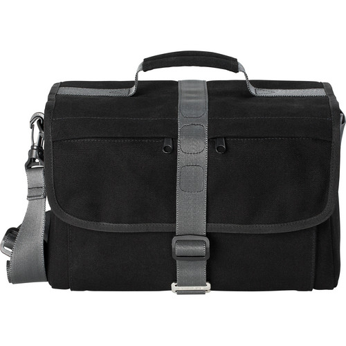 Olympus Messenger Bag for OM-D/E-M5 with Card Wallet and Lens Cloth (Black/Gray)