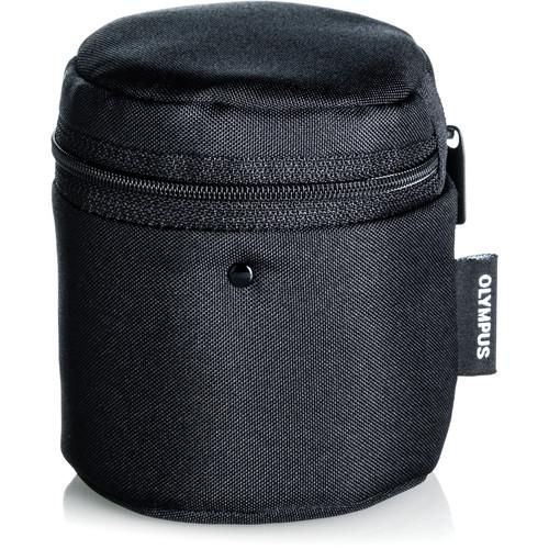 Olympus Barrel Style Lens Case for m.Zuiko Digital Lenses (Small, Black)