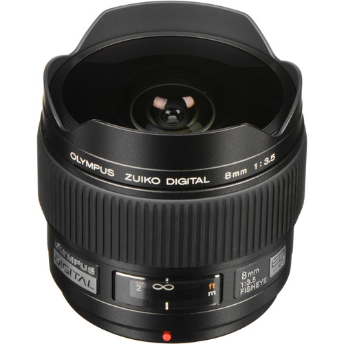 Olympus 8mm f/3.5 Fisheye ED Zuiko Digital Lens
