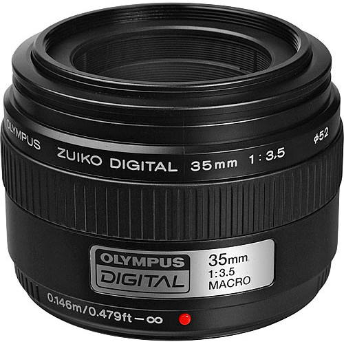 Olympus Zuiko Digital 35mm f/3.5 Macro ED Lens