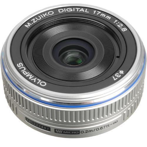 Olympus M.Zuiko Digital 17mm f/2.8 Lens for Micro Four Thirds Format Cameras