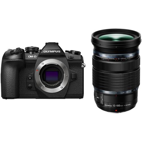 Olympus OM-D E-M1 Mark II Mirrorless Micro Four Thirds Digital Camera with 12-100mm Lens Kit