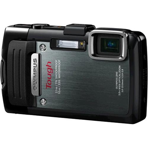 Olympus TG-830 iHS Digital Camera (Black)