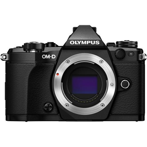 Olympus OM-D E-M5 Mark II Mirrorless Micro Four Thirds Digital Camera with 12-40mm Lens Kit (Black)