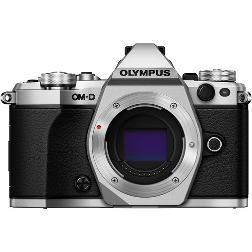 Olympus OM-D E-M5 Mark II Mirrorless Micro Four Thirds Digital Camera with 12-50mm Lens Kit (Silver)