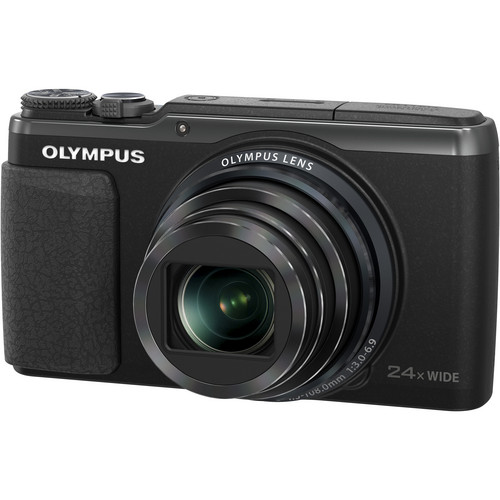 Olympus Stylus SH-50 iHS Digital Camera (Black)
