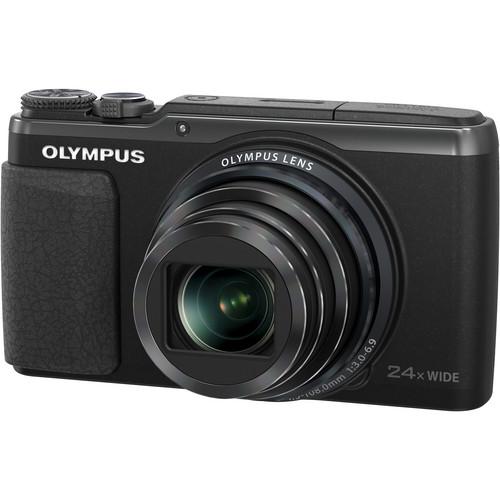Olympus Stylus SH-50 iHS Digital Camera (Black)