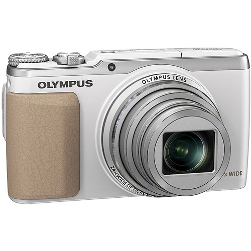 Olympus Stylus SH-50 iHS Digital Camera (White)
