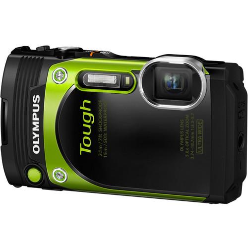 Olympus Stylus TOUGH TG-870 Digital Camera Basic Kit (Green)