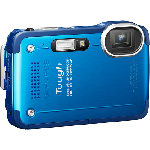 Olympus TG-630 iHS Digital Camera (Blue)