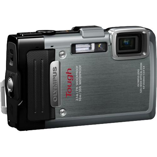 Olympus TG-830 iHS Digital Camera (Silver)