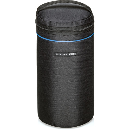 Olympus PRO Barrel Style Lens Case for m.Zuiko Digital Lenses (Large, Black)