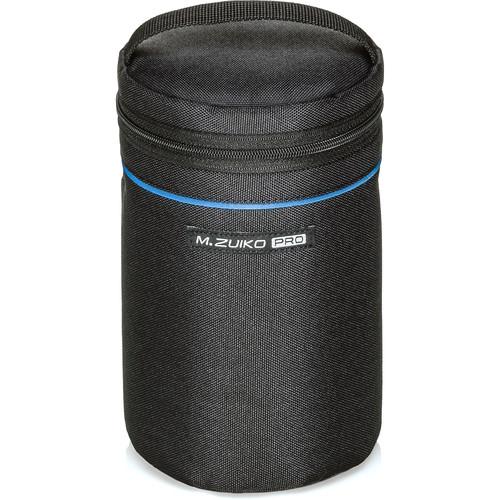 Olympus PROBarrel Style Lens Case for m.Zuiko Digital Lenses (Standard, Black)