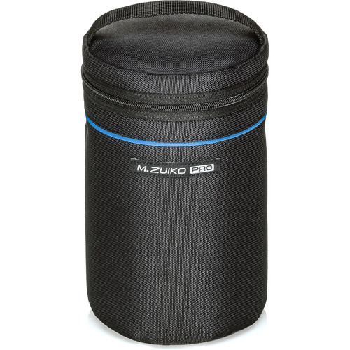 Olympus PRO Barrel Style Lens Case for m.Zuiko Digital Lenses (Standard, Black)