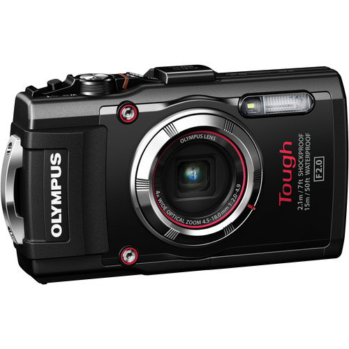 Olympus Stylus TOUGH TG-3 Digital Camera (Black)