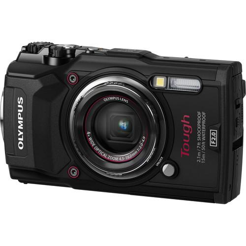 Olympus Tough TG-5 Digital Camera (Black)