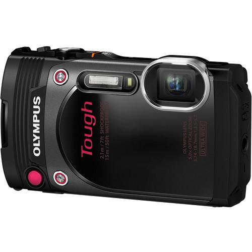 Olympus Stylus TOUGH TG-870 Digital Camera (Black)
